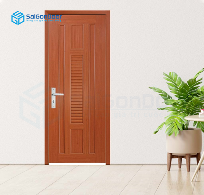Cửa thông phòng chất liệu gỗ